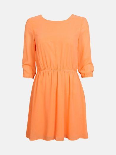 Chaino dress | 7166209 | Oranssi | BikBok | Suomi