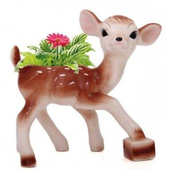 Ceramic Bambi Planter