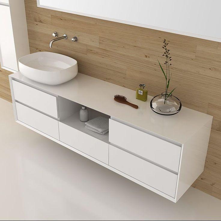 Les 27 meilleures images du tableau style salle de bain nature sur pinterest bain douche - Meuble salle de bain 180 cm ...