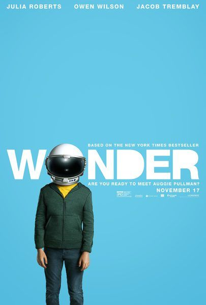 Based on the New York Times bestseller, WONDER tells the inspiring and heartwarming story of August Pullman. Born with facial differences that, up until now, have prevented him from going to a mainstream school, Auggie becomes the most unlikely of heroes when he enters the local fifth grade. As his family, his new classmates, and the larger community all struggle to find their compassion and acceptance, Auggie's extraordinary journey will unite them all and prove you can't blend in w...