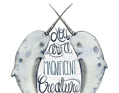"Wonder meyer- ""Magnificent Creature"" http://on.be.net/1MhuZRf"