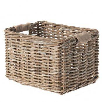 Malle en Rotin Basil Dorset Gris | Panier en osier, Panier et Peindre l'osier