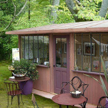 ahhhhh, my garden studio dream