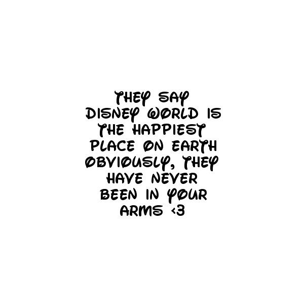 Disney love Quote ❤ liked on Polyvore
