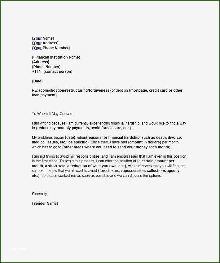 16 Splendid Financial Hardship Letter Template In 2020 Letter Templates Lettering Financial