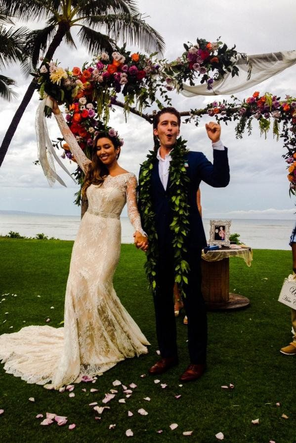 Pin for Later: See Matthew Morrison's First Wedding Picture!