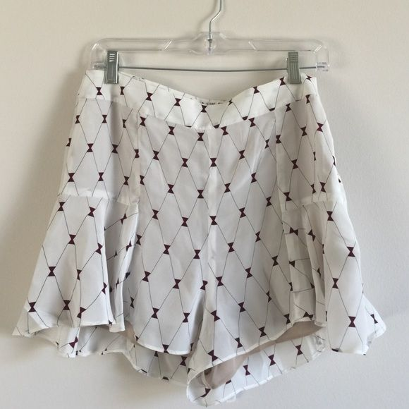 Stone Cold Fox Marcus bloomers size L Brand new never worn stone cold fox Marcus bloomers. Size large 100% silk. Selling because they don't fit me Stone Cold Fox Shorts