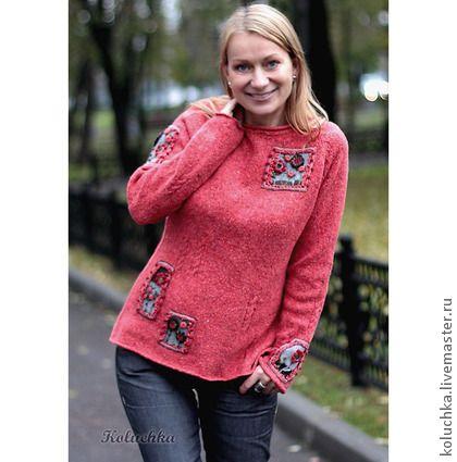 Не грусти ))) - рисунок,джемпер,твид,одежда на осень,осень 2013,теплый свитерок