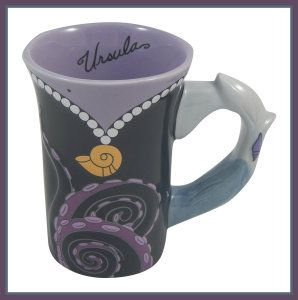 Disney Parks Ursula from The Little Mermaid Dress Ceramic Mug