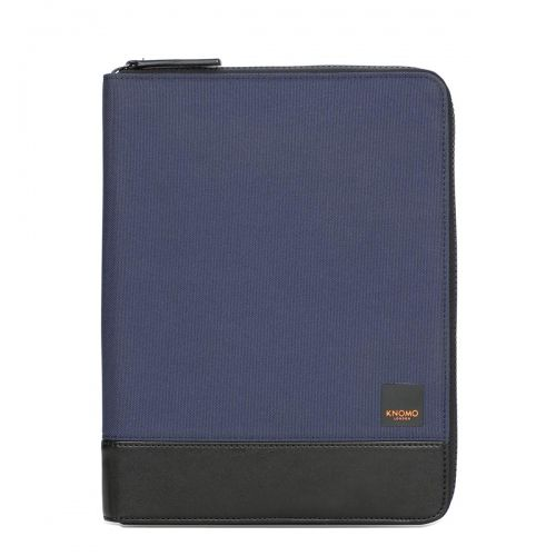 Knomad Zip Folio Organiser Portable Organiser Blue