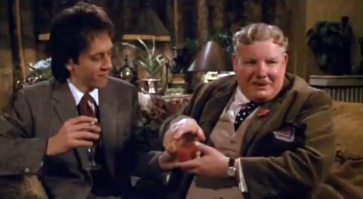 Richard E. Grant and Richard Griffiths in WITHNAIL & I