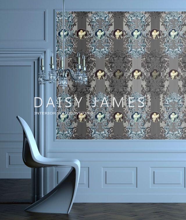 DAISY JAMES wallcover The Queen