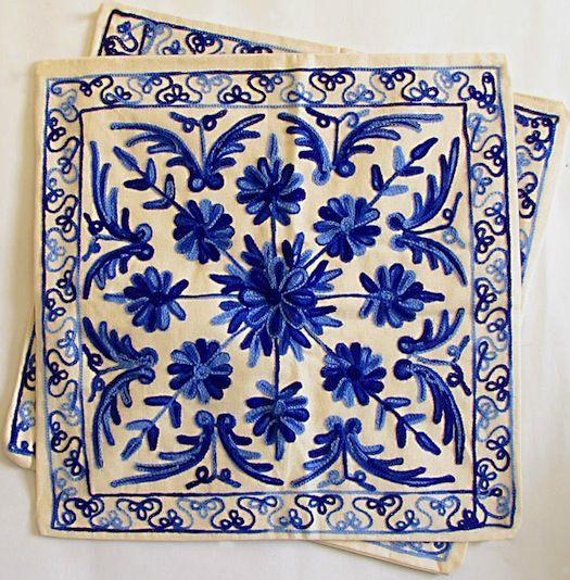 16 Best Kashida Embroidery Images On Pinterest | Kashida Embroidery Cushion Covers And Kashmiri ...