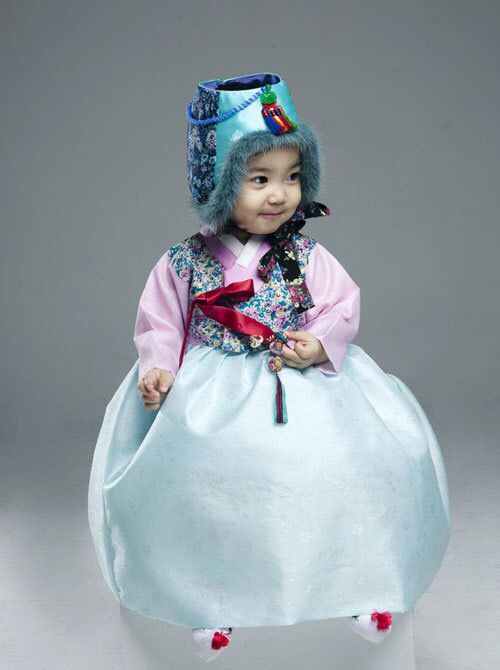 .한복 Hanbok : Korean traditional clothes[dress] #modernhanbok #babyhanbok.