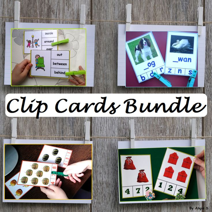Clip Cards Bundle for Autism, Special Education, ABA, Speech Therapy, OT, ESL. The bundle includes printables for fall, spring, winter, farm animals. #autism #clipcards For more resources follow https://www.pinterest.com/angelajuvic/autism-and-special-education-resources-angie-s-tpt/