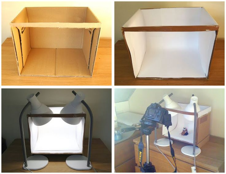 How to make a lightbox to take great product photographs