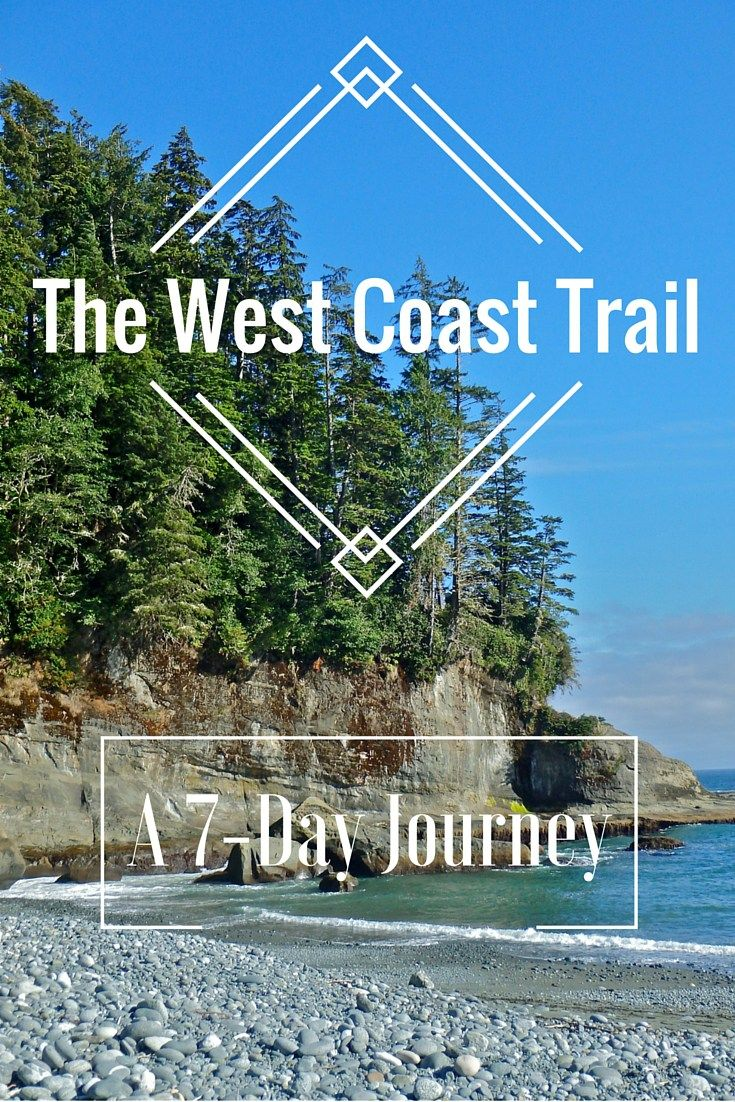 Hiking the West Coast Trail of British Columbia Canada