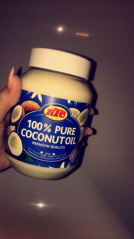 KTC coconut oil to remove makeup
