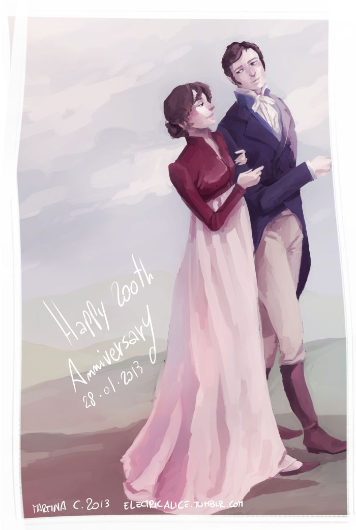 elizabeth and mr darcy in jane austens Jane seems to like charles, and he appears to feel the same, but elizabeth takes an immediate dislike to darcy (matthew macfadyen), charles' egocentric best friend.