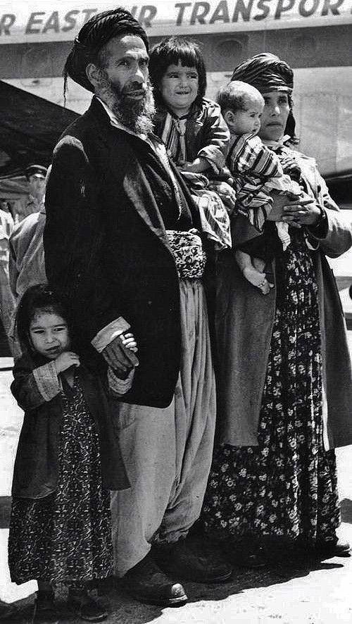 Jews from Iraqi Kurdistan, 1949.