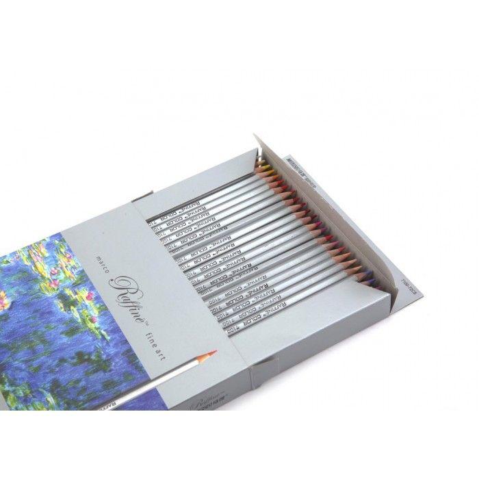 Creioane colorate 36 culori/set, Marco - Creioane colorate profesionale - Articole pentru scoala - Rechizite