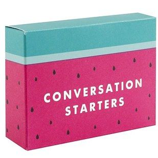 And these helpful conversation starters to aid your post-holiday awkwardness. | 18 Cute Desk Accessories That'll Make Going Back To Work Way Easier