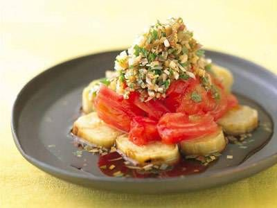 焼きなすと焼きトマトの薬味じょうゆ : 簡単なすレシピ!プロの人気のおかず 100選 - NAVER まとめ