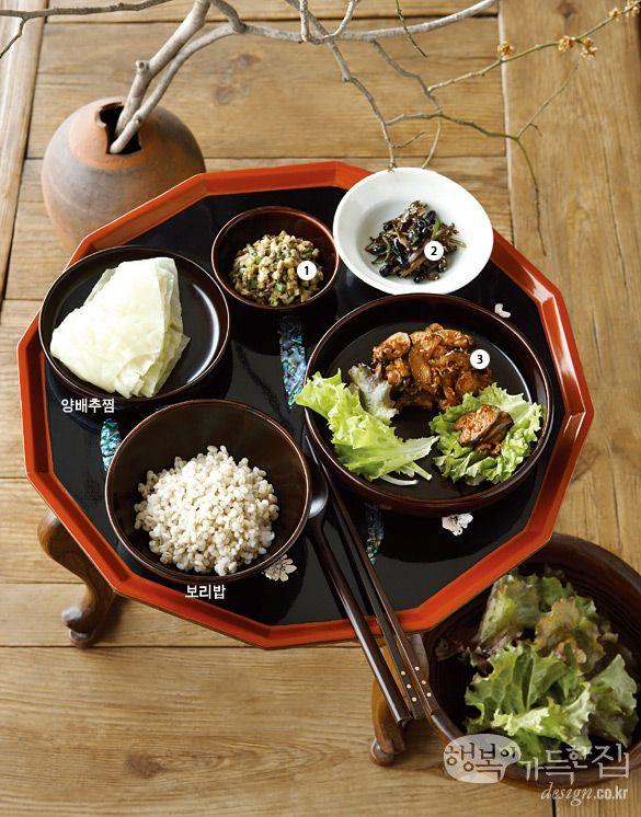 행복이가득한집 Design your lifestyle 사찰 음식으로 차린 치유의 밥상 비만 치유에 도움 되는 식단