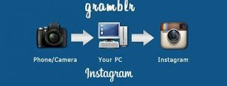 Cara Upload Foto Instagram Di PC Komputer Dengan Gramblr
