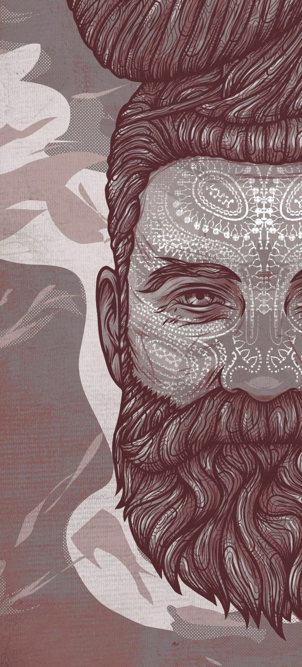 Conscience. 2013, vector work. by Kevin HOHLER, via Behance