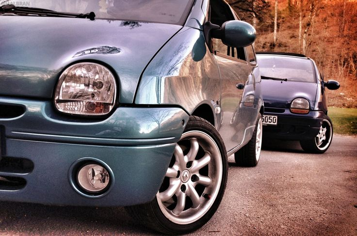 Renault Twingo - AUTO - CAR - AUTOMOVIL - TUNING - Modificado - HDR - CHROME @MALBRAN