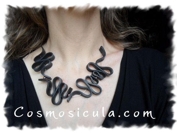 Collana Camera d'aria - inner tube necklace
