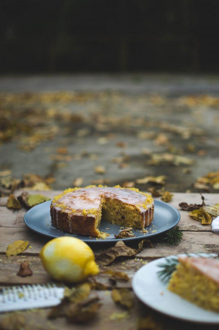 Bezglutenowe ciasto cytrynowe