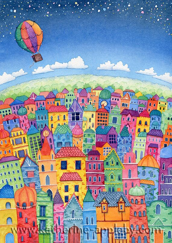 A4 Signed Limited Edition Giclee Print: In by KathyApplebyArt