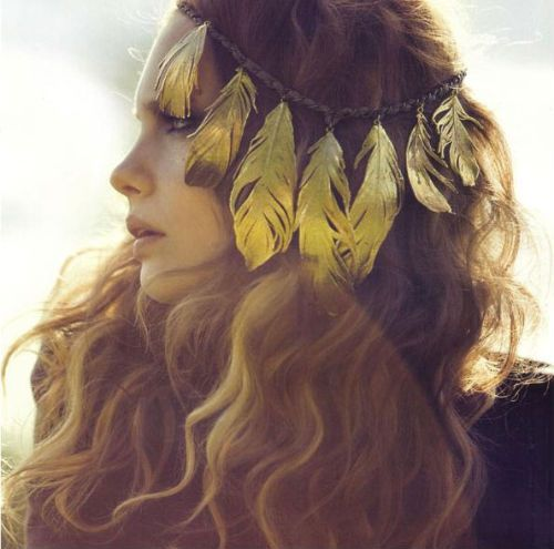 I have wanted feather extensions for a while, but this may be way cooler!