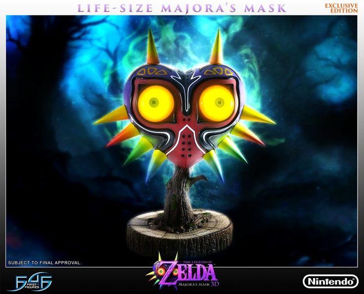 My Nintendo News — First 4 Figures Zelda Majora's Mask Statue Now...