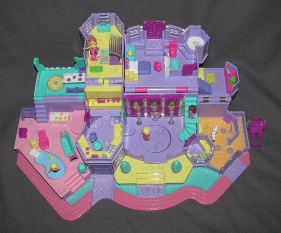 Vintage 1994 Bluebird Polly Pocket Magical by pollypocketplus