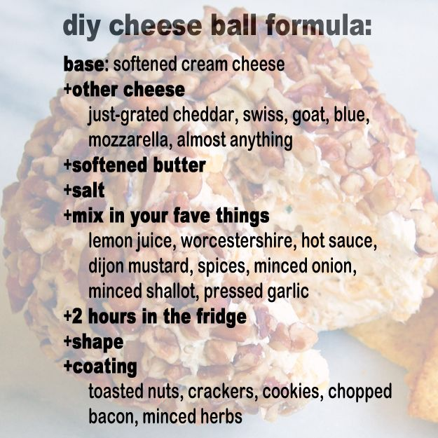 How to make a cheese ball. | 23 Most Glorious Balls Of Cheese You've Ever Seen