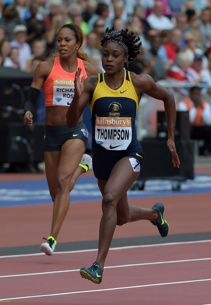 Elaine Thompson - Women's 200m (non-DR) - London - 2015 - Elaine Thompson (JAM) set a Meeting Record of 22.10 in the Women's 200m (non-Diamond Race) on Day 2 of the 2015 Sainsbury's Anniversary Games in London, member of the IAAF Diamond League