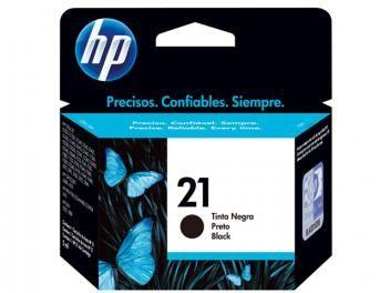 Cartucho de Tinta Preto - HP 21 C9351AB