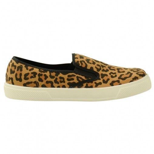 Sacha // Leopard slip on € 39,95