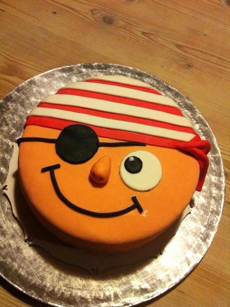 Piraten taart 2 - pirate cake 2
