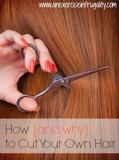 Wie schneide ich mein eigenes Haar?