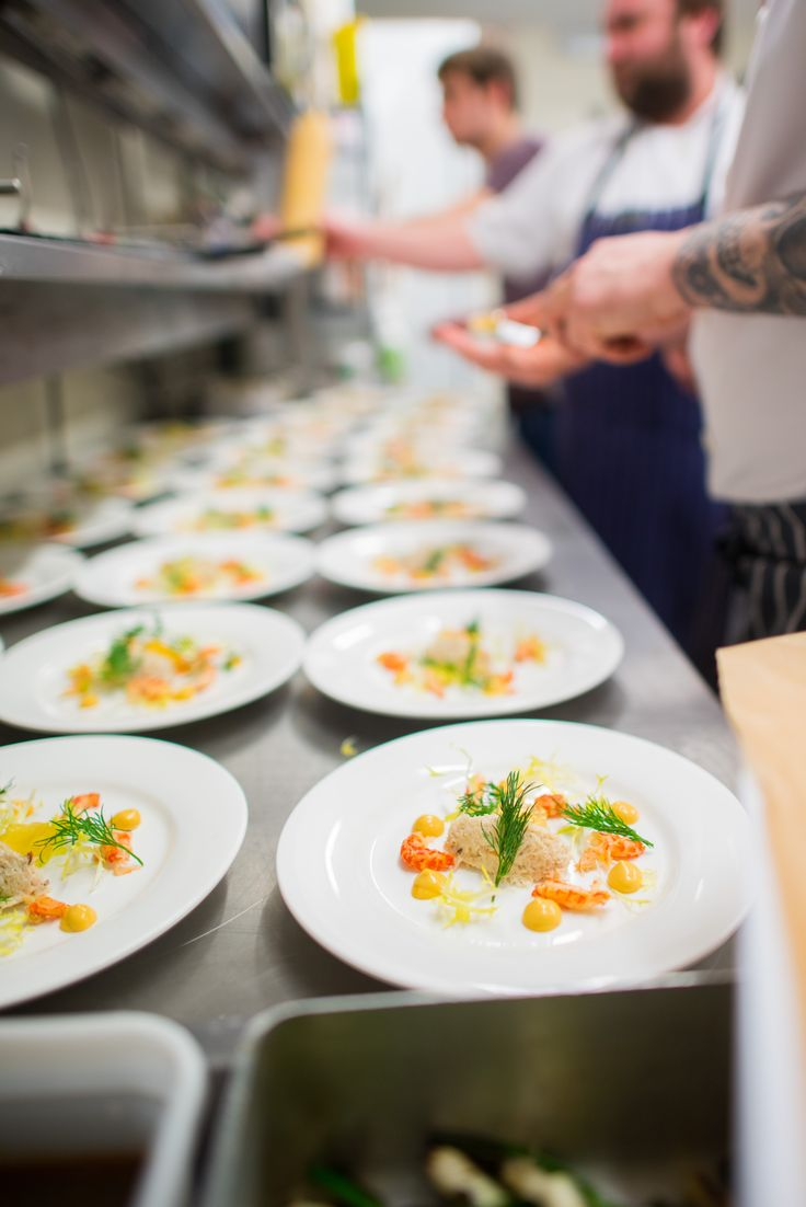 Starters Being Prepared Provided By Unique Norfolk Venues