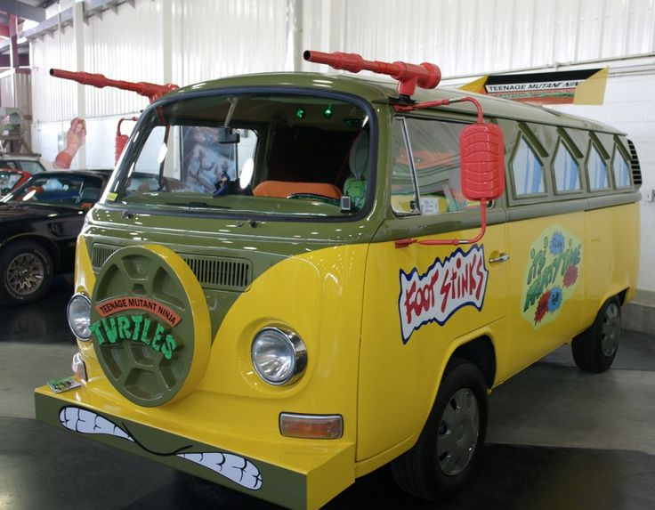 Teenage Mutant Ninja Turtles - Van.   For the ban I have to get for all our kids