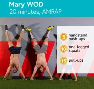CrossFit Workout Mary