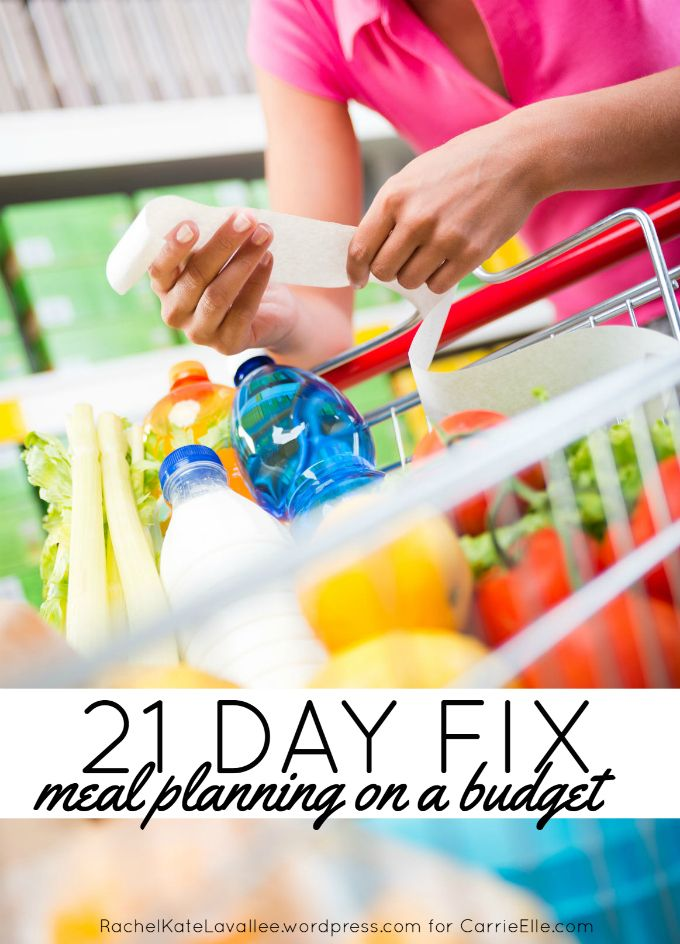 21 Day Fix Meal Planning on a Budget - great tips for keeping your meal planning under budget...including tips on how to create your meal plan, how much to budget, and how to save.