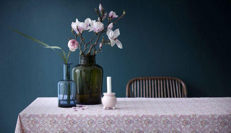 Tablecloth Diya