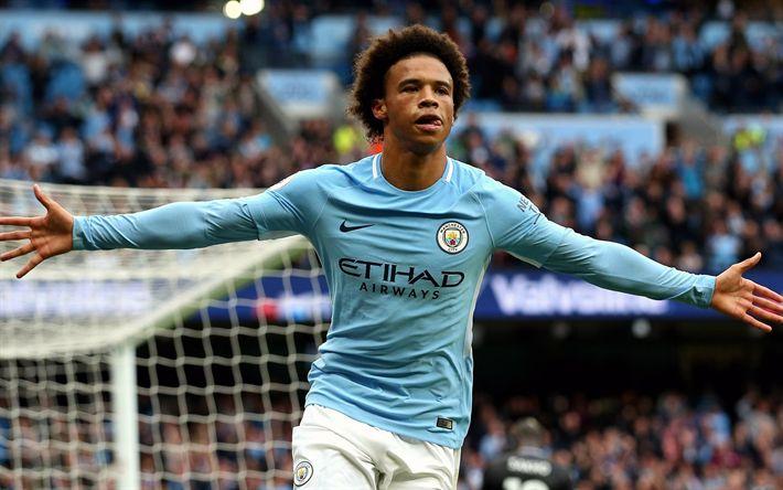 Hämta bilder Leroy Frisk, fotbollsspelare, Manchester City, Premier League, fotboll, Man City