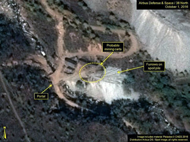 Satellite Imagery Shows North Korea May Be Preparing Sixth Nuclear Test #TRUMP